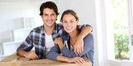 Packing Services in Oshawa, ON, Newly Moved Couple
